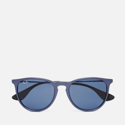 Солнцезащитные очки Ray-Ban Erika Color Mix Gunmetal/Dark Blue Classic