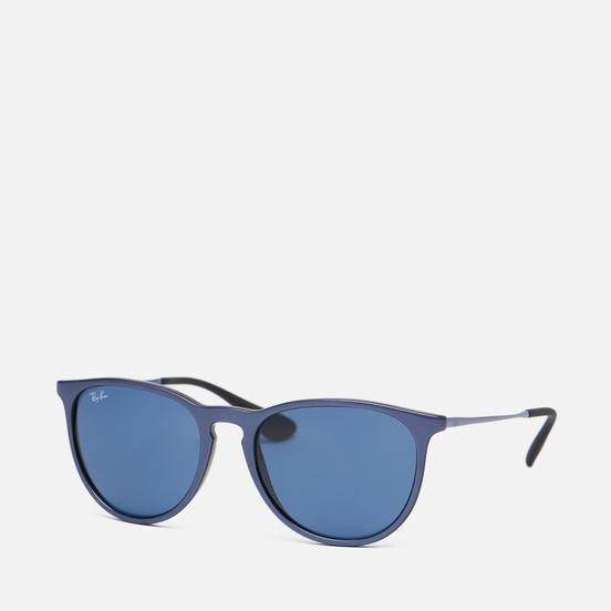 Солнцезащитные очки Ray-Ban Erika Color Mix Gunmetal/Dark Blue Classic