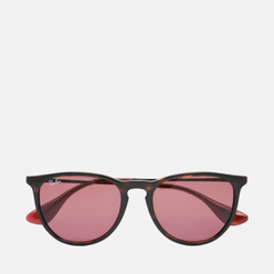 Солнцезащитные очки Ray-Ban Erika Color Mix Tortoise/Bronze-Copper/Dark Violet Classic