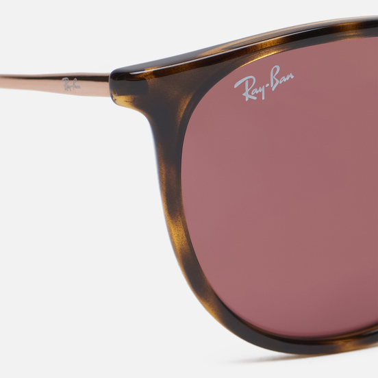 Солнцезащитные очки Ray-Ban Erika Color Mix Tortoise/Bronze-Copper/Dark Violet Classic