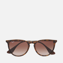 Солнцезащитные очки Ray-Ban Erika Rubber Havana/Poly Brown Gradient