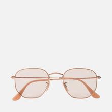 Солнцезащитные очки Ray-Ban Hexagonal Evolve Bronze-Copper/Light Brown Photocromic фото- 0