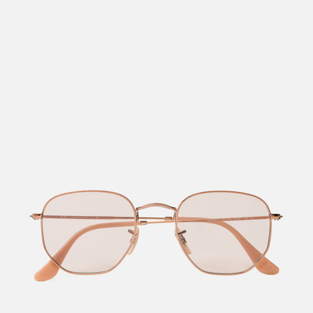 Солнцезащитные очки Ray-Ban Hexagonal Evolve Bronze-Copper/Light Brown Photocromic