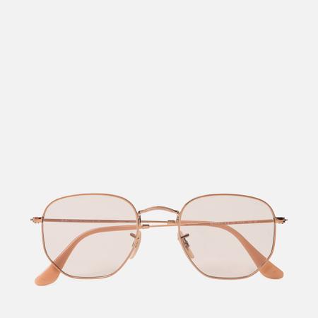 Солнцезащитные очки Ray-Ban Hexagonal Evolve Bronze-Copper/Light Brown Photocromic