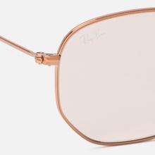Солнцезащитные очки Ray-Ban Hexagonal Evolve Bronze-Copper/Light Brown Photocromic фото- 2