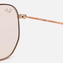 Солнцезащитные очки Ray-Ban Hexagonal Evolve Bronze-Copper/Light Brown Photocromic фото- 3