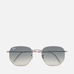 Солнцезащитные очки Ray-Ban Hexagonal Flat Lenses Polished Gunmetal/Grey Gradient