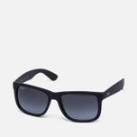 Солнцезащитные очки Ray-Ban Justin Classic Black/Grey Gradient фото- 1