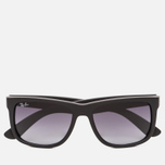 Солнцезащитные очки Ray-Ban Justin Classic Black/Grey Gradient фото- 0