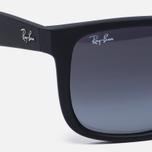 Солнцезащитные очки Ray-Ban Justin Classic Black/Grey Gradient фото- 2