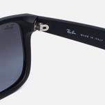 Солнцезащитные очки Ray-Ban Justin Classic Black/Grey Gradient фото- 3