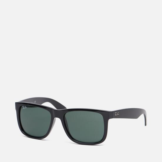 Солнцезащитные очки Ray-Ban Justin Classic Gloss Black/Green Classic