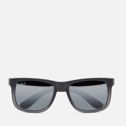 Солнцезащитные очки Ray-Ban Justin Classic Matte Grey/Silver Gradient Mirror