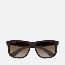 Солнцезащитные очки Ray-Ban Justin Classic Matte Tortoise/Polarized Brown Gradient