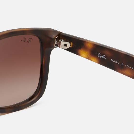Солнцезащитные очки Ray-Ban Justin Classic Tortoise/Brown Gradient