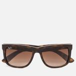 Солнцезащитные очки Ray-Ban Justin Classic Tortoise/Brown Gradient фото- 0
