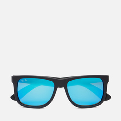 Солнцезащитные очки Ray-Ban Justin Color Mix Matte Black/Blue Mirror