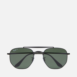 Солнцезащитные очки Ray-Ban Marshal Black/Polarized Green Classic G-15