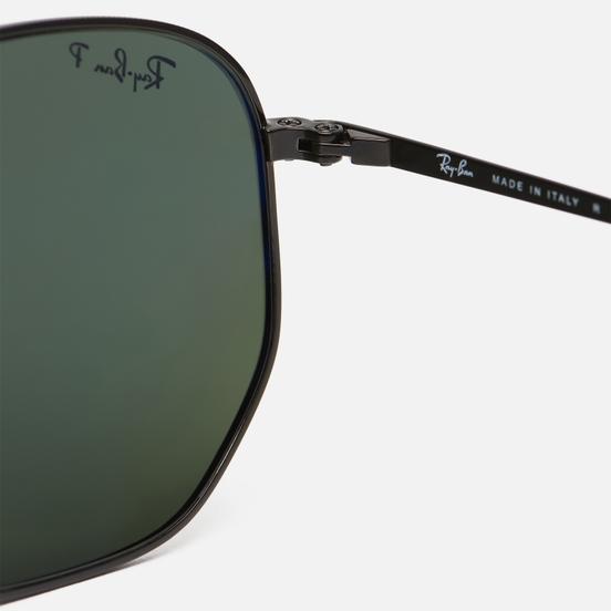 Солнцезащитные очки Ray-Ban Marshal Black/Polarized Green Classic G-15