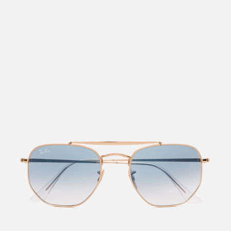 Солнцезащитные очки Ray-Ban Marshal Gold/Light Blue Gradient