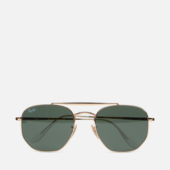Солнцезащитные очки Ray-Ban Marshal Polished Gold/Green Classic G-15