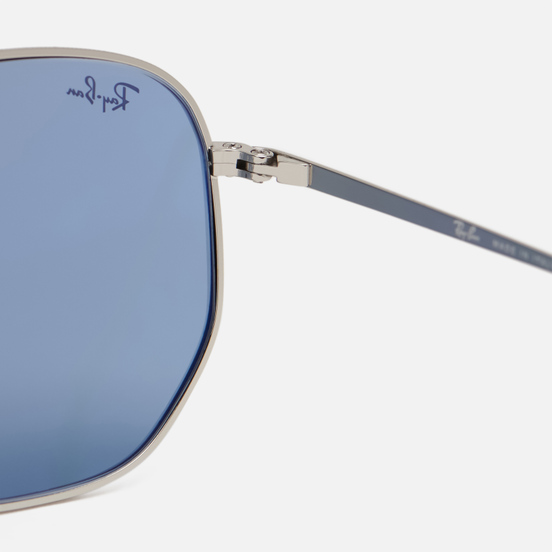 Солнцезащитные очки Ray-Ban Marshal Silver/Azure/Blue Gradient