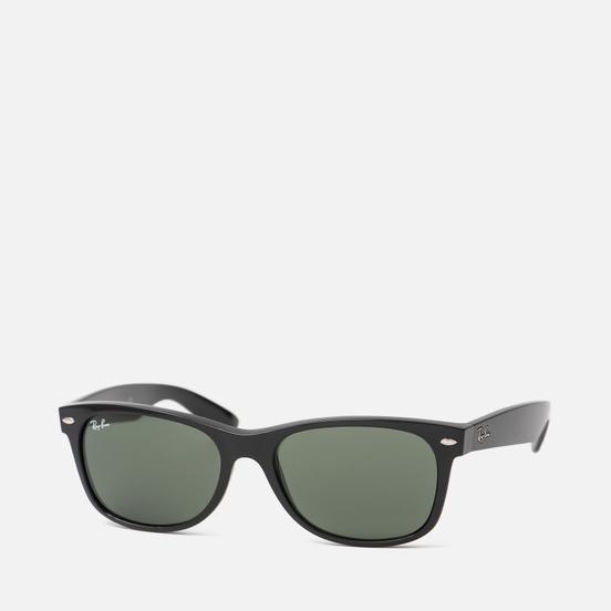 Солнцезащитные очки Ray-Ban New Wayfarer Black/Green