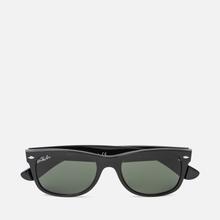 Солнцезащитные очки Ray-Ban New Wayfarer Classic Black/Green Classic фото- 0