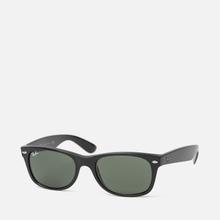 Солнцезащитные очки Ray-Ban New Wayfarer Classic Black/Green Classic фото- 1