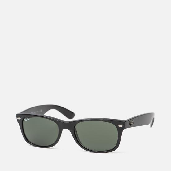 Солнцезащитные очки Ray-Ban New Wayfarer Classic Black/Green Classic