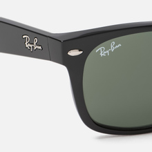 Солнцезащитные очки Ray-Ban New Wayfarer Classic Black/Green Classic фото- 2