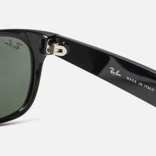 Солнцезащитные очки Ray-Ban New Wayfarer Classic Black/Green Classic фото- 3