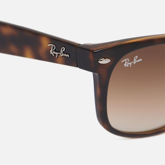 Солнцезащитные очки Ray-Ban New Wayfarer Classic Light Havana/Brown Gradient