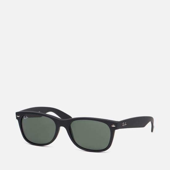 Солнцезащитные очки Ray-Ban New Wayfarer Classic Matte Black/Green Classic G-15