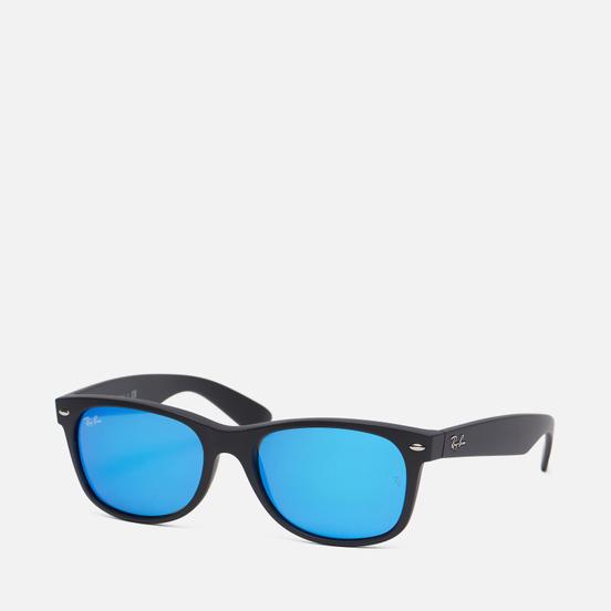 Солнцезащитные очки Ray-Ban New Wayfarer Flash Black/Blue Flash