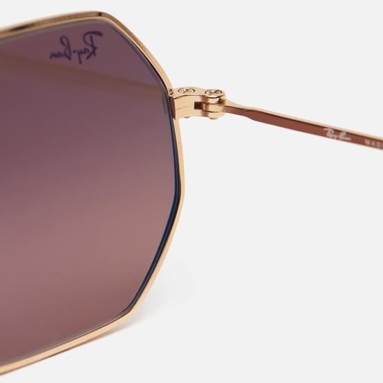 Солнцезащитные очки Ray-Ban Octagonal Classic Gold/Brown Gradient