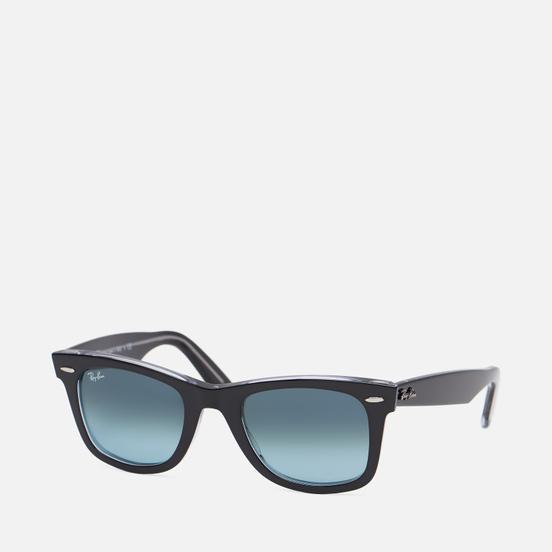 Солнцезащитные очки Ray-Ban Original Wayfarer Bicolor Black/Blue Gradient
