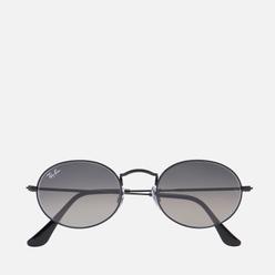 Солнцезащитные очки Ray-Ban Oval Flat Lenses Black/Grey Gradient