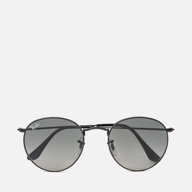 Солнцезащитные очки Ray-Ban Round Flat Lenses Black/Grey Gradient