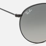 Солнцезащитные очки Ray-Ban Round Flat Lenses Black/Grey Gradient фото- 2