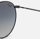 Солнцезащитные очки Ray-Ban Round Flat Lenses Black/Grey Gradient фото- 4