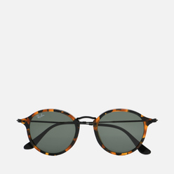 Солнцезащитные очки Ray-Ban Round Fleck Polished Tortoise/Black/Green Classic G-15