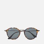 Солнцезащитные очки Ray-Ban Round Fleck Tortoise/Gunmetal/Blue/Gray Classic фото- 0