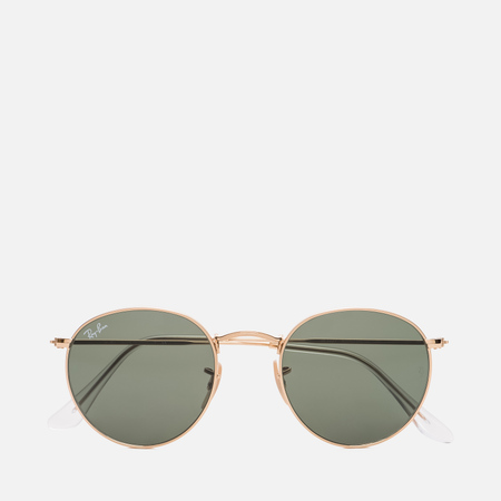 Солнцезащитные очки Ray-Ban Round Metal Gold/Green Classic G-15