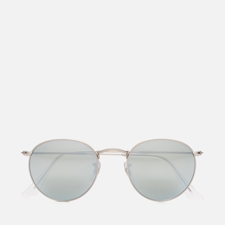 Солнцезащитные очки Ray-Ban Round Metal Silver/Silver Flash