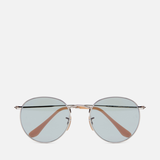 Солнцезащитные очки Ray-Ban Round Washed Evolve Silver/Blue Photochromic Evolve