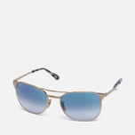 Солнцезащитные очки Ray-Ban Signet Gold/Light Blue Gradient фото- 1