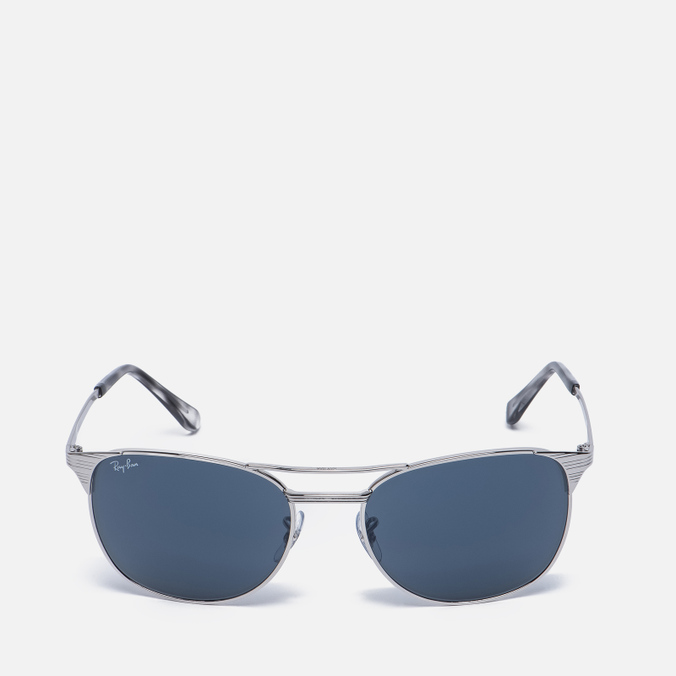 Солнцезащитные очки Ray-Ban Signet Silver/Blue/Grey Classic