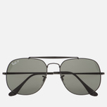 Солнцезащитные очки Ray-Ban The General Black/Polarized Green Classic G-15 фото- 0