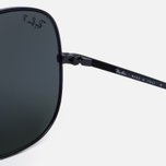 Солнцезащитные очки Ray-Ban The General Black/Polarized Green Classic G-15 фото- 3